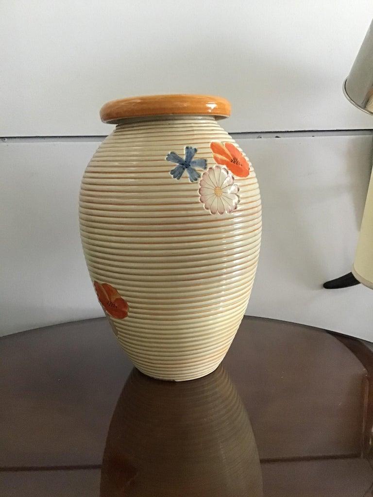 Pucci Umbertide Vase /Umbrella Stand Ceramic, 1950, Italy For Sale 4