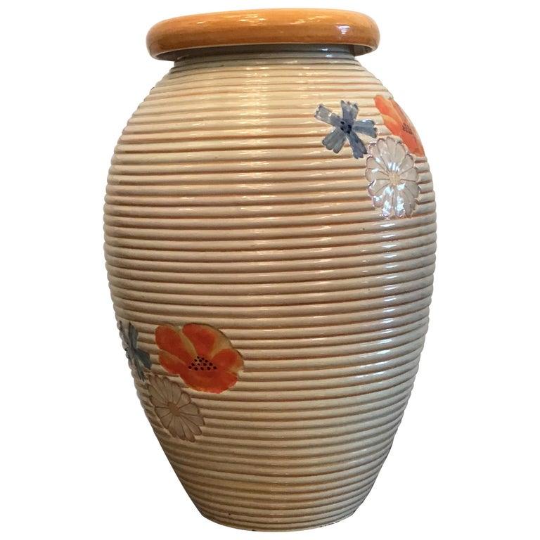 Pucci Umbertide Vase /Umbrella Stand Ceramic, 1950, Italy For Sale