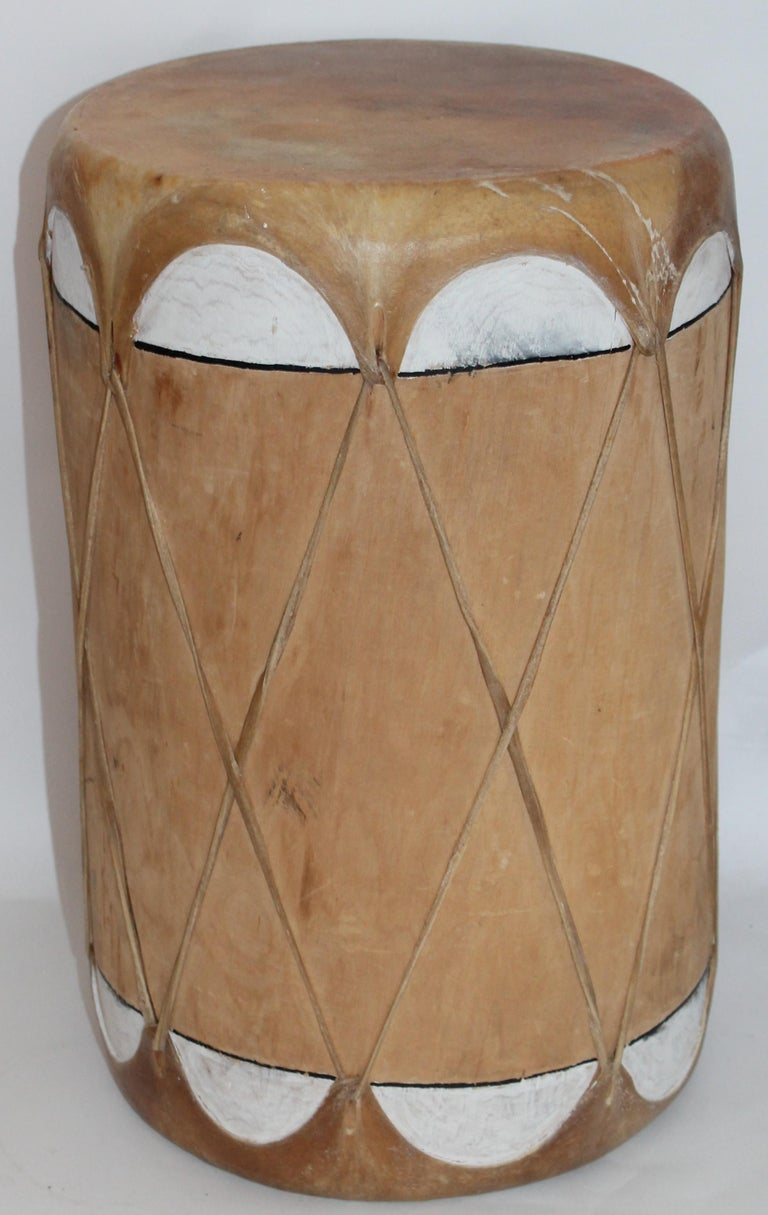 Country Pueblo Drums, 1930s For Sale