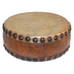 Pueblo Indian Children's Drum, 19th Century