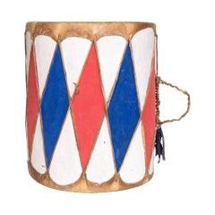 Pueblo Indian Cottonwood Drum