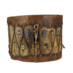 Pueblo Indian Cottonwood Trunk Drum