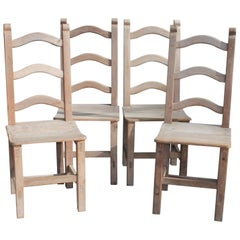 Pueblo Ladder Back Chairs Set of Four