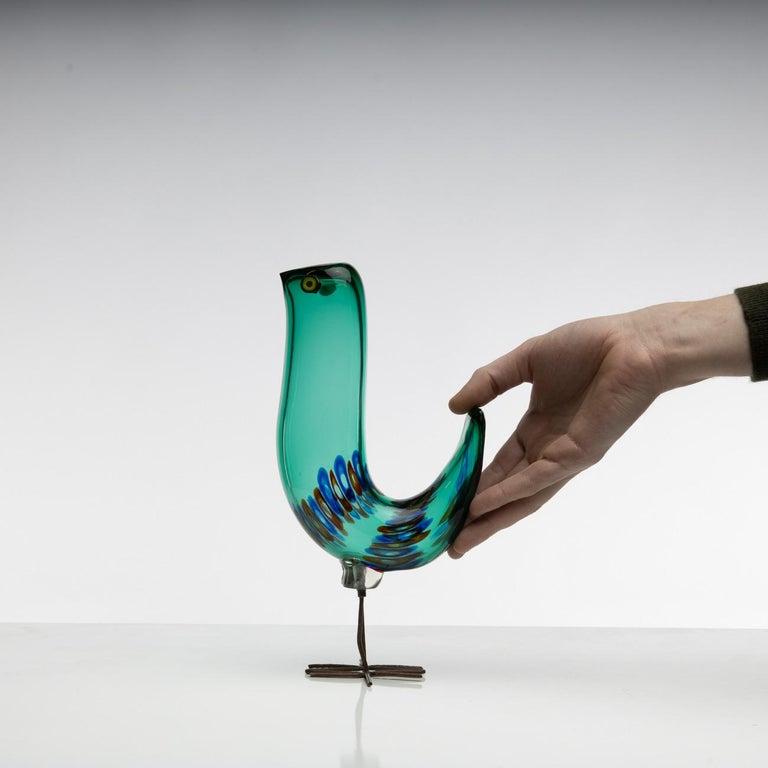 Pulcino Glass Bird, Alessandro Pianon, Vetreria Vistosi Murano, 'Italy' For Sale 3