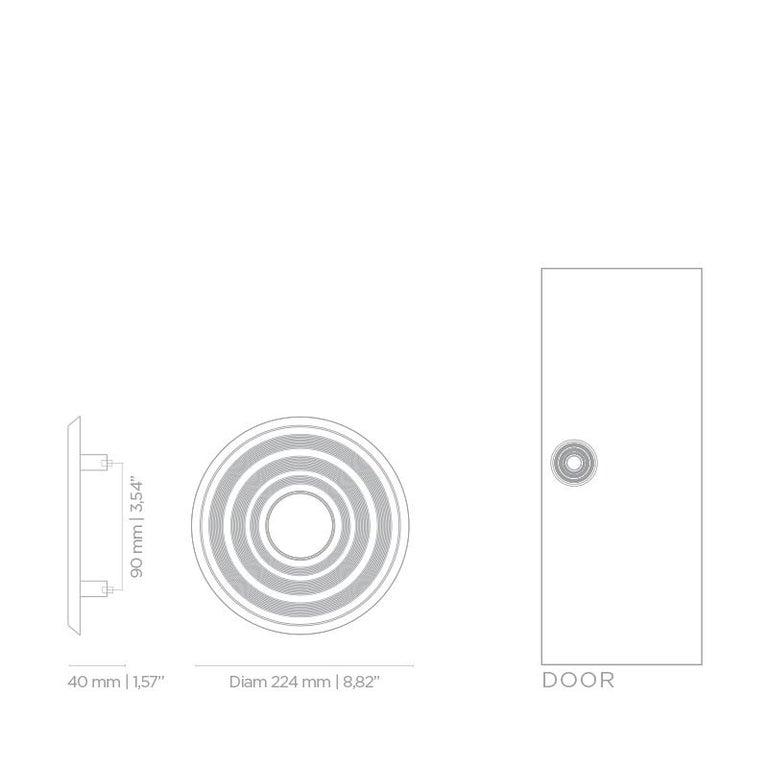 Hendrix TW5004  Door Hardware  Door Pulls In New Condition For Sale In New York, NY