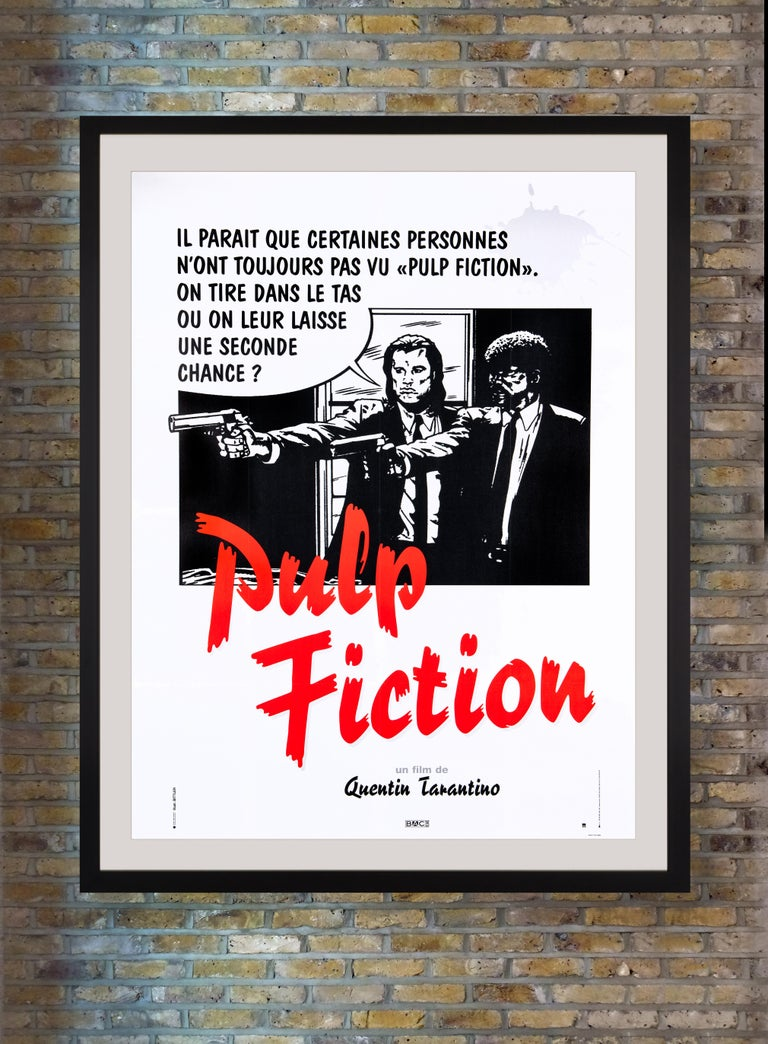 Widely regarded as Quentin Tarantino's masterpiece, the ultra-violent comedic crime thriller 'Pulp Fiction' followed the intertwining tales of Los Angeles oddballs John Travolta, Samuel L. Jackson, Uma Thurman and Bruce Willis with a punchy dialogue