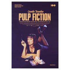 'Pulp Fiction' R2014 Czech A1 Film Poster