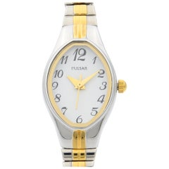 Pulsar by Seiko Two-Tone Stainless Steel Japanese Quartz Womens Watch PC3272