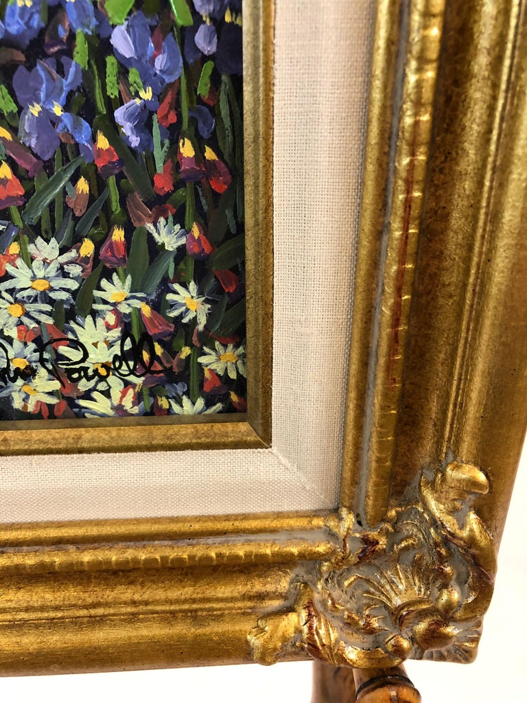 Pulsatingly Alive Garden Landscape Painting by John Powell For Sale 2
