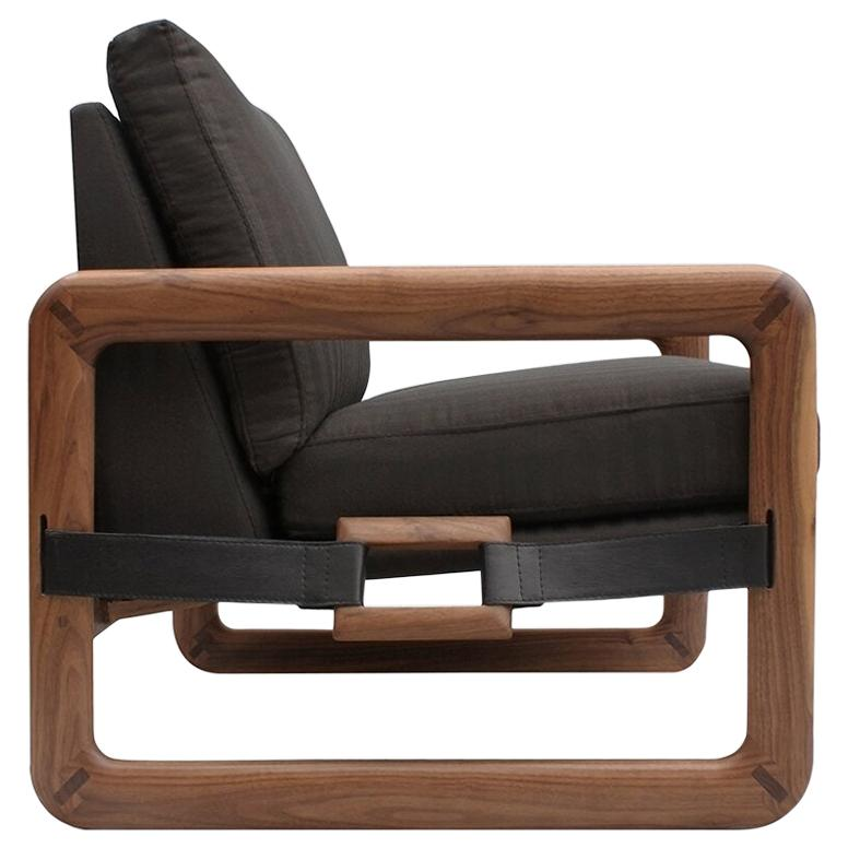 Pulse Walnut Armchair