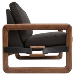 Pulse Walnut Armchair