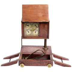 Punch Clock Apparatus, circa 1870s