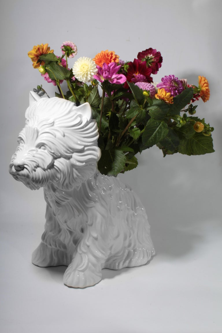 Puppy Vase by Jeff Koons, 1998 For Sale 3
