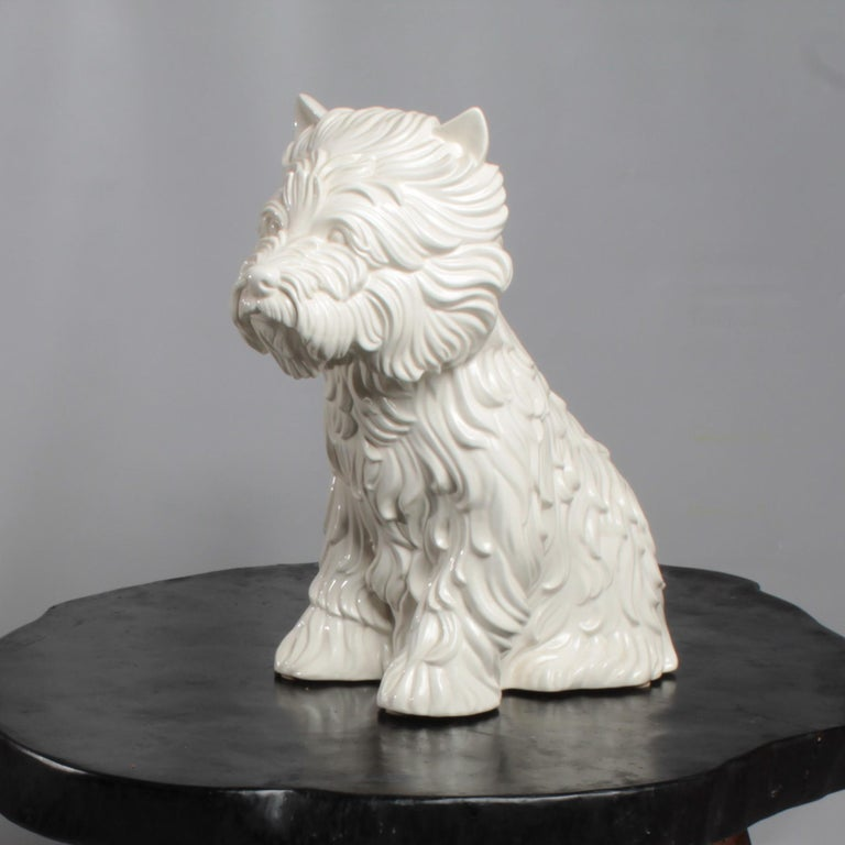 Late 20th Century Puppy Vase by Jeff Koons, 1998 For Sale
