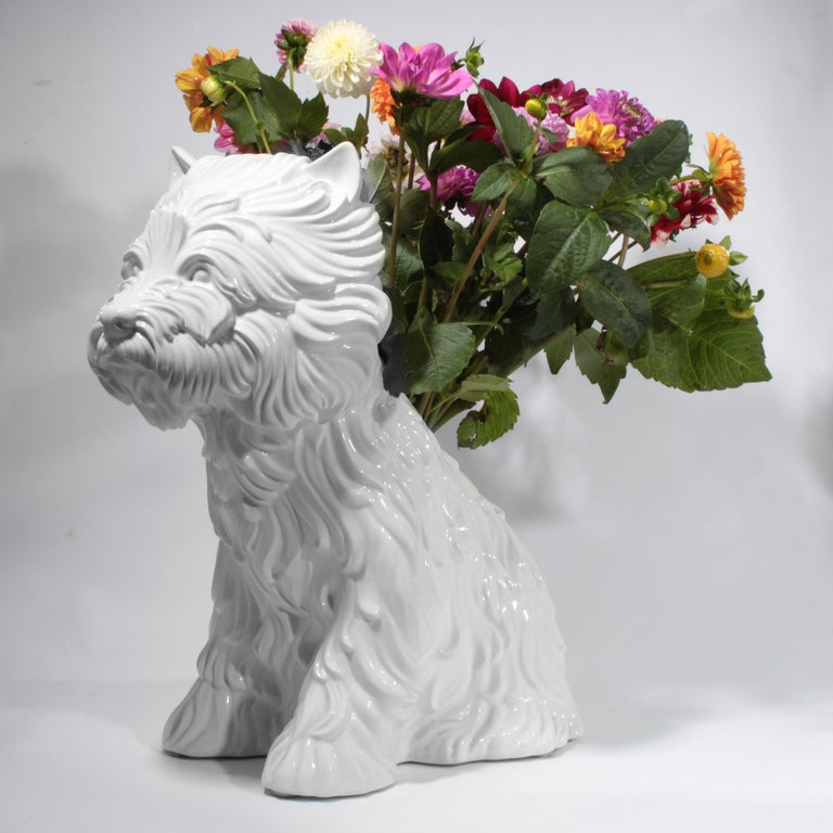 French Puppy Vase by Jeff Koons, 1998 For Sale