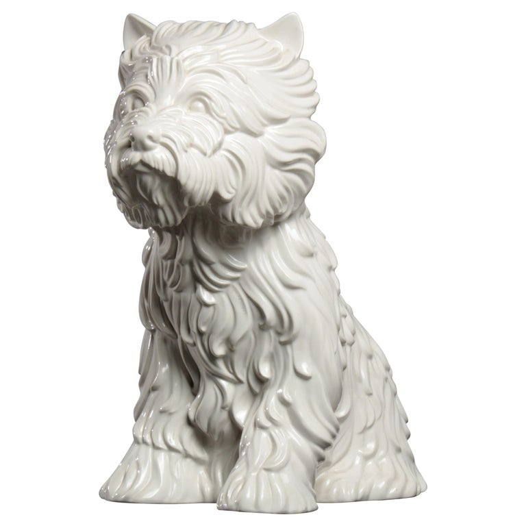 Puppy Vase by Jeff Koons, 1998 For Sale