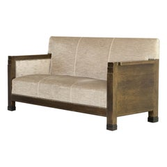 Pure Art Deco Three Seat Sofa