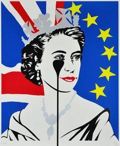 PURE EVIL: Brexit Nightmare - Limited edition screen print - Street Art, Pop Art