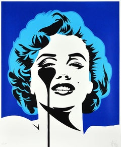 PURE EVIL: I Dream of Marilyn - Limited ed. Screen print Street art Pop Art
