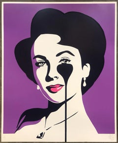 PURE EVIL: Liz Loves Richard - Street Art, Pop Art, Liz Taylor & Richard Burton