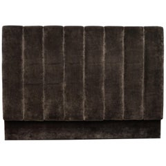 Pure Luxury Silk Velvey Upholstered Ralph Lauren Fluted King Size Headboard
