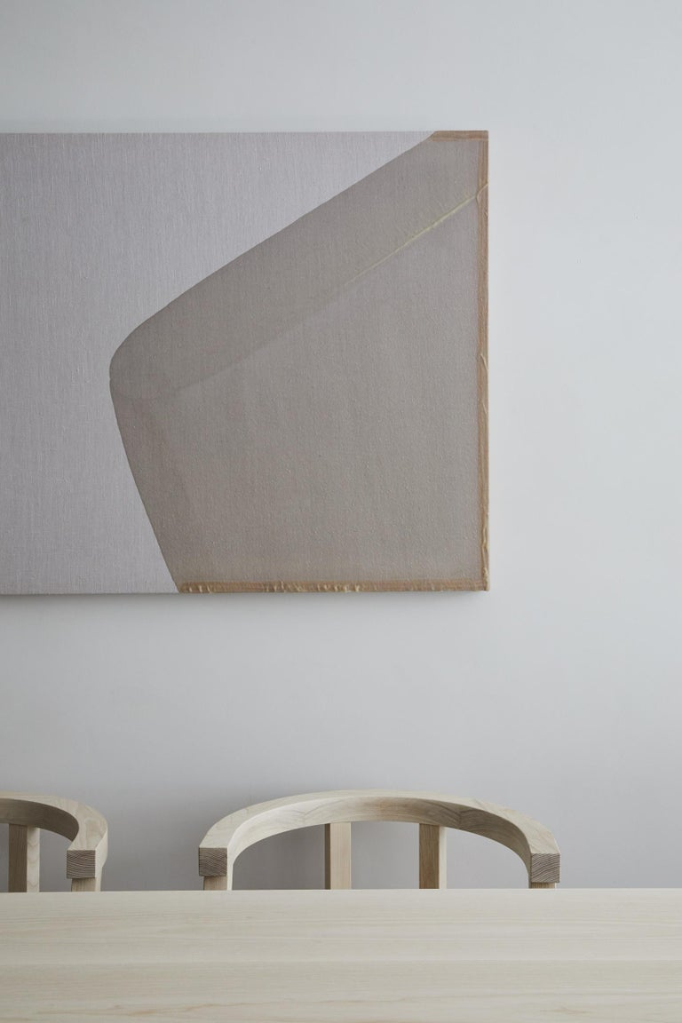 Pure Minimalist Bleached Ash Dining Chair or Side Chair by Amee Allsop, AA103 For Sale 4