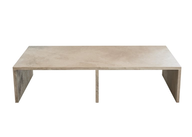 The AA106 coffee table, part of the 'Pure Minimalist' collection by Amee Allsop, is simply constructed of 1.25