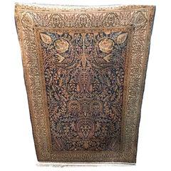 Pure Silk Carpet Region Hereke Turkey with Certificate