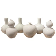 Pure White Vase Assortment, China, Contemporary