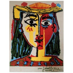 Pure Wool After Pablo Picasso Tapestry by Desso, the Netherlands