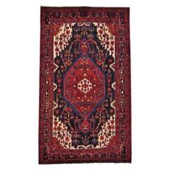 Pure Wool Persian Nahavand Handmade Full Pile Oriental Rug