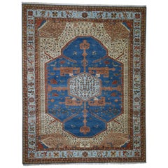 Pure Wool Vegetable Dyes Bakshaish Hand-Knotted Oriental Rug