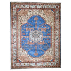 Pure Wool Vegetable Dyes Bakshaish Hand Knotted Oriental Rug