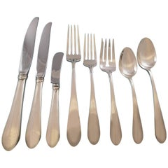 Puritan by Gorham Sterling Silver Flatware Set for 12 Service 96 Pieces Dinner