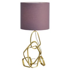PURNA MINI Ab Contemporary and Organic Table Lamp