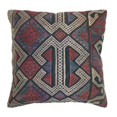 Purple Accent Tribal Traditional Kilim Pillow