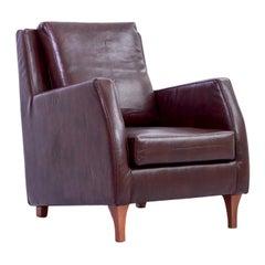 Purple Armchair