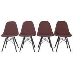 Peachy Set Of 6 White Eames Dsw Dining Side Chairs 1950S At 1Stdibs Ocoug Best Dining Table And Chair Ideas Images Ocougorg