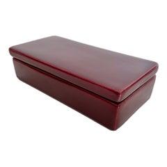 Purple Ceramic Box