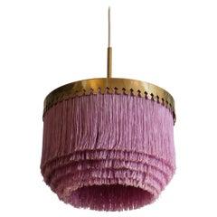 Purple Hans-Agne Jakobsson Ceiling Lamp Model T601, 1960s