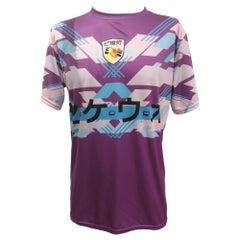 Purple multicoloured t-shirt NWOT