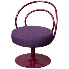 Purple O Chair by Sema Topaloglu