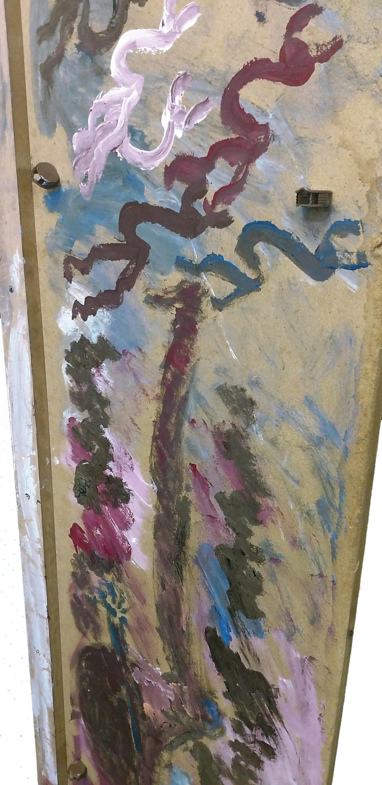 FERTILITY IV - Outsider Art Mixed Media Art by Purvis Young