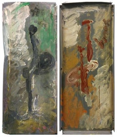 SIDE BY SIDE DIPTYCH