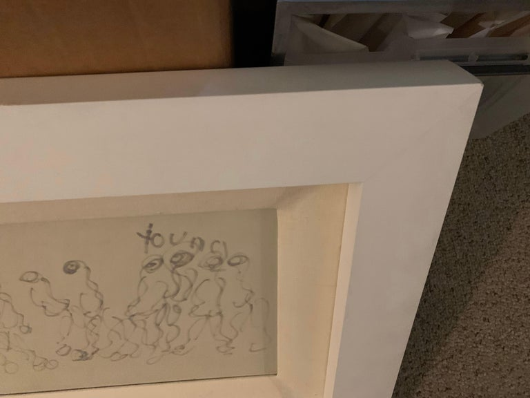 20th Century Purvis Young Original Painting