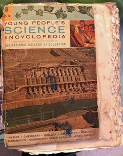 Purvis Young Book, 'Young People's Science Encyclopedia'