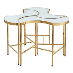 Puzzle Side Table by Badari