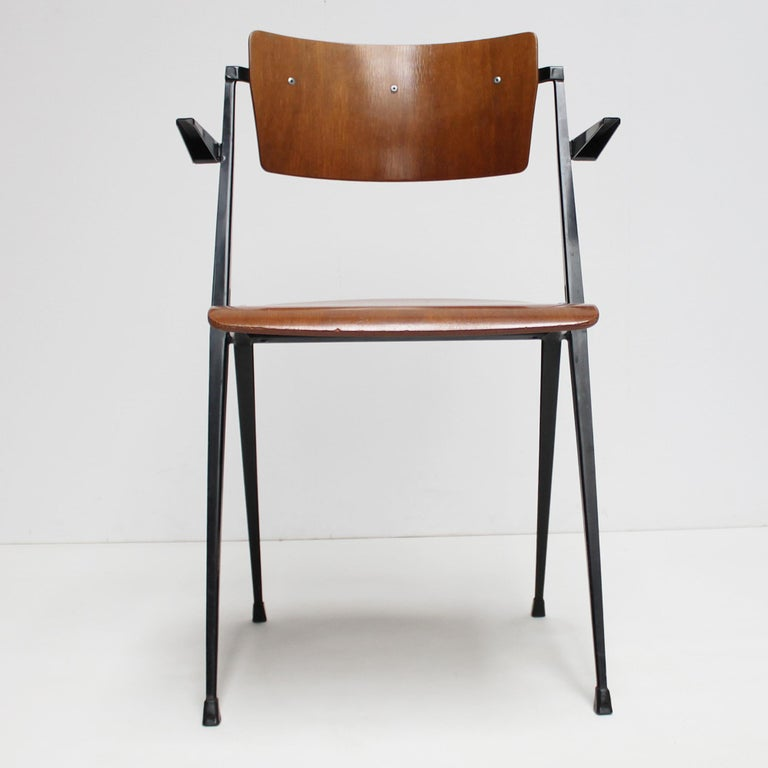 Pyramid Armchair by Wim Rietveld for De Cirkel For Sale 2