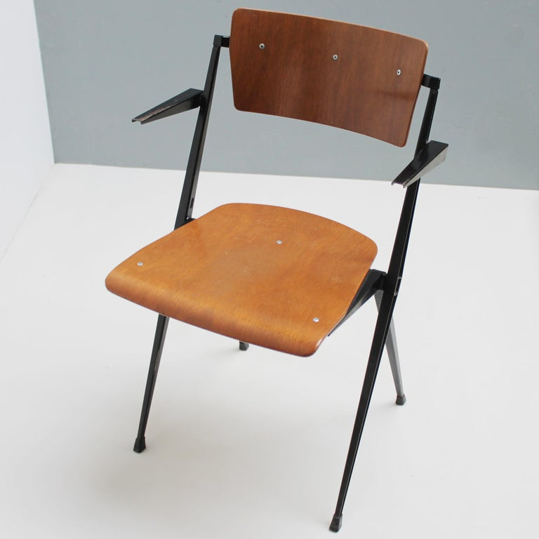 Pyramid Armchair by Wim Rietveld for De Cirkel For Sale 4