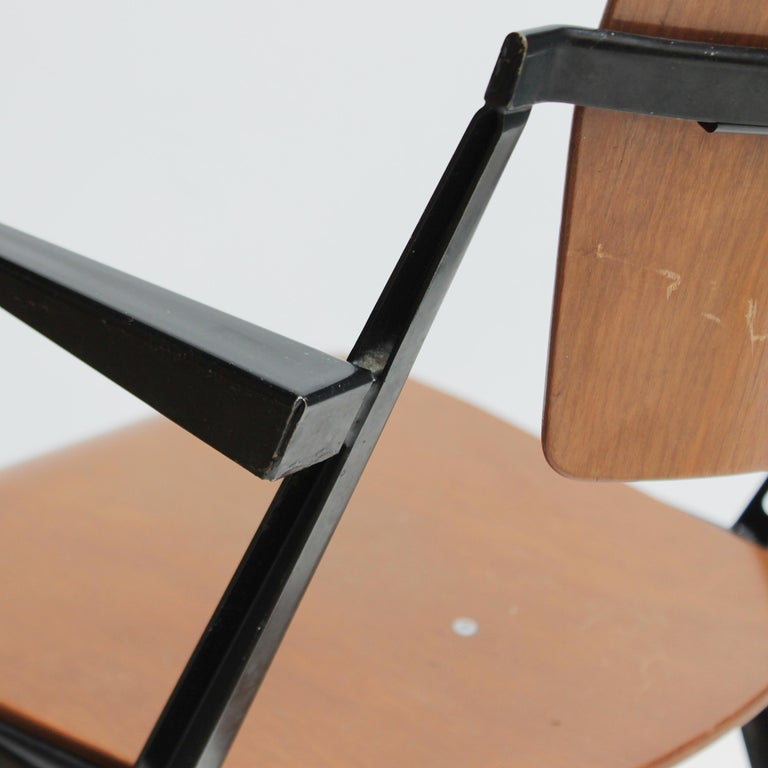 Pyramid Armchair by Wim Rietveld for De Cirkel For Sale 5